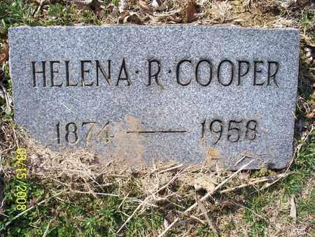 COOPER, HELENA R. - Montgomery County, Kansas   HELENA R. COOPER - Kansas Gravestone Photos
