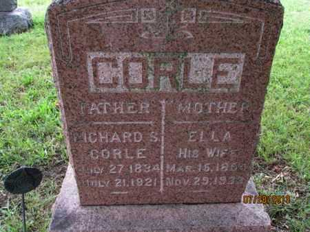 CORLE, ELLA - Montgomery County, Kansas | ELLA CORLE - Kansas Gravestone Photos