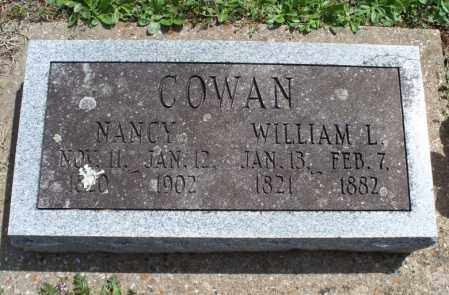 COWAN, WILLIAM L - Montgomery County, Kansas | WILLIAM L COWAN - Kansas Gravestone Photos