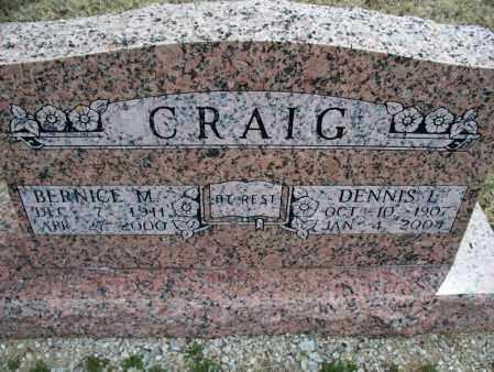 CRAIG, DENNIS L - Montgomery County, Kansas | DENNIS L CRAIG - Kansas Gravestone Photos