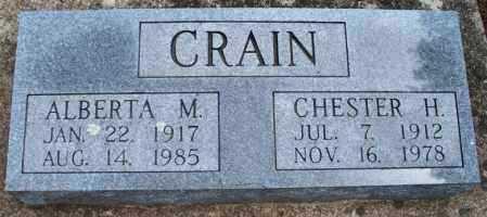 CRAIN, CHESTER H - Montgomery County, Kansas | CHESTER H CRAIN - Kansas Gravestone Photos