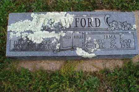 CRAWFORD, JAMES W. - Montgomery County, Kansas   JAMES W. CRAWFORD - Kansas Gravestone Photos