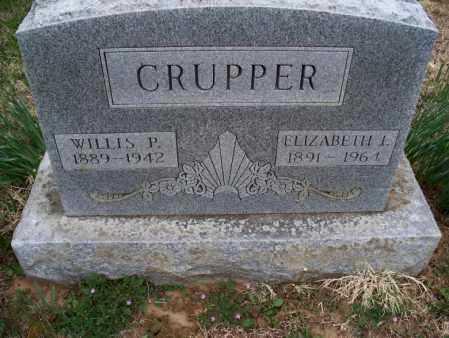 CRUPPER, WILLIS P - Montgomery County, Kansas | WILLIS P CRUPPER - Kansas Gravestone Photos