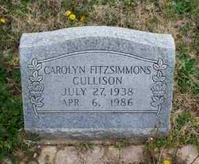 FITZSIMMONS CULLISON, CAROLYN - Montgomery County, Kansas | CAROLYN FITZSIMMONS CULLISON - Kansas Gravestone Photos