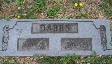 DABBS, HARRY M - Montgomery County, Kansas | HARRY M DABBS - Kansas Gravestone Photos