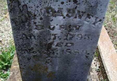 DABNEY, EDNA - Montgomery County, Kansas   EDNA DABNEY - Kansas Gravestone Photos