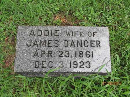 DANCER, ADDIE - Montgomery County, Kansas | ADDIE DANCER - Kansas Gravestone Photos