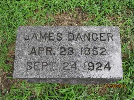 DANCER, JAMES - Montgomery County, Kansas   JAMES DANCER - Kansas Gravestone Photos