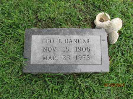 DANCER, LEO T - Montgomery County, Kansas   LEO T DANCER - Kansas Gravestone Photos