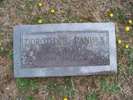 DANIELS, DOROTHY I - Montgomery County, Kansas | DOROTHY I DANIELS - Kansas Gravestone Photos