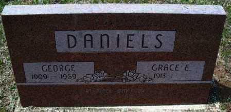 DANIELS, GEORGE - Montgomery County, Kansas   GEORGE DANIELS - Kansas Gravestone Photos