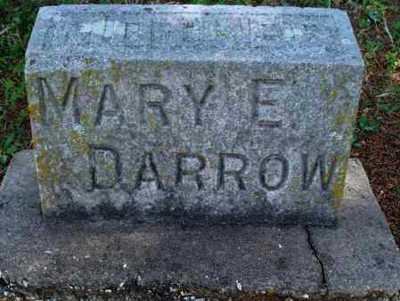 DARROW, MARY E - Montgomery County, Kansas   MARY E DARROW - Kansas Gravestone Photos