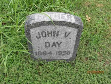 DAY, JOHN V - Montgomery County, Kansas   JOHN V DAY - Kansas Gravestone Photos