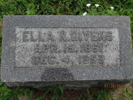 DIVENS, ELLA N - Montgomery County, Kansas | ELLA N DIVENS - Kansas Gravestone Photos