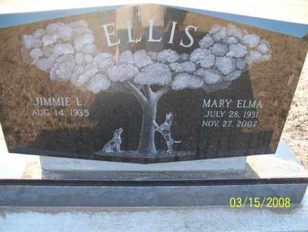 ELLIS, MARY ELMA - Montgomery County, Kansas | MARY ELMA ELLIS - Kansas Gravestone Photos