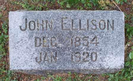 ELLISON, JOHN - Montgomery County, Kansas | JOHN ELLISON - Kansas Gravestone Photos