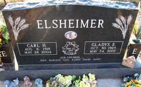 ELSHEIMER, CARL H - Montgomery County, Kansas | CARL H ELSHEIMER - Kansas Gravestone Photos
