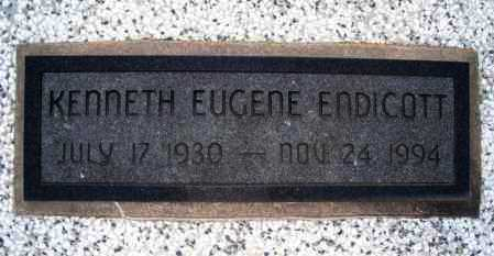 ENDICOTT, KENNETH EUGENE - Montgomery County, Kansas | KENNETH EUGENE ENDICOTT - Kansas Gravestone Photos
