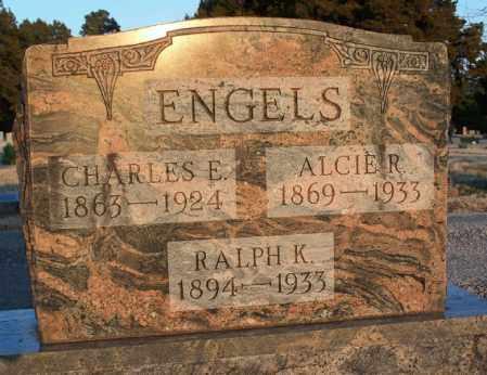 ENGELS, CHARLES E - Montgomery County, Kansas | CHARLES E ENGELS - Kansas Gravestone Photos