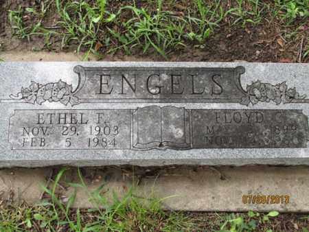 ENGELS, ETHEL F - Montgomery County, Kansas | ETHEL F ENGELS - Kansas Gravestone Photos
