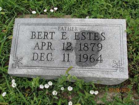 ESTES, BERT E - Montgomery County, Kansas   BERT E ESTES - Kansas Gravestone Photos