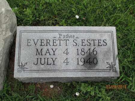 ESTES, EVERETT S - Montgomery County, Kansas | EVERETT S ESTES - Kansas Gravestone Photos