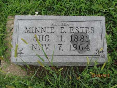 ESTES, MINNIE E - Montgomery County, Kansas | MINNIE E ESTES - Kansas Gravestone Photos