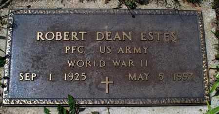 ESTES, ROBERT DEAN   (VETERAN WWII) - Montgomery County, Kansas | ROBERT DEAN   (VETERAN WWII) ESTES - Kansas Gravestone Photos