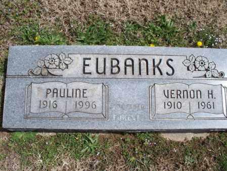 EUBANKS, PAULINE - Montgomery County, Kansas | PAULINE EUBANKS - Kansas Gravestone Photos