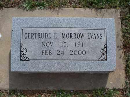 EVANS, GERTRUDE E - Montgomery County, Kansas | GERTRUDE E EVANS - Kansas Gravestone Photos