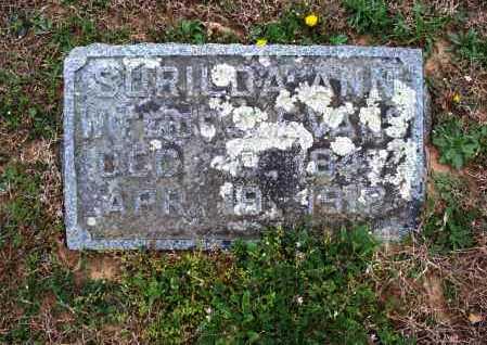 EVANS, SURILDA ANN - Montgomery County, Kansas | SURILDA ANN EVANS - Kansas Gravestone Photos