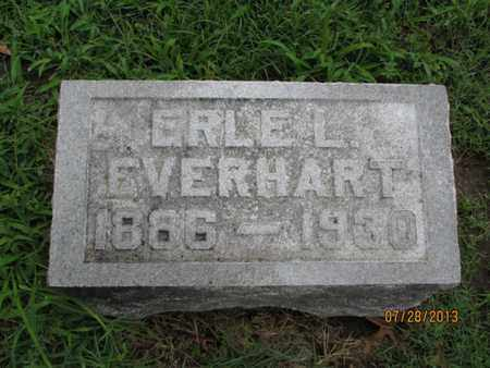EVERHART, ERLE L - Montgomery County, Kansas | ERLE L EVERHART - Kansas Gravestone Photos