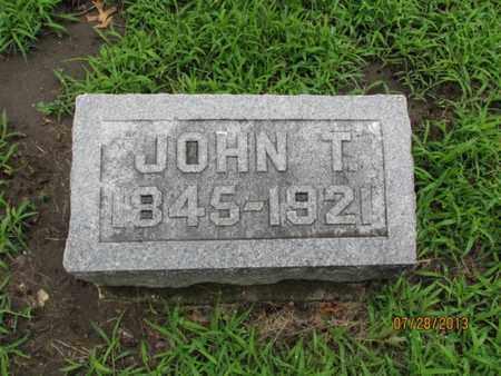 EVERHART, JOHN T - Montgomery County, Kansas | JOHN T EVERHART - Kansas Gravestone Photos