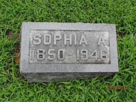 EVERHART, SOPHIA A - Montgomery County, Kansas | SOPHIA A EVERHART - Kansas Gravestone Photos