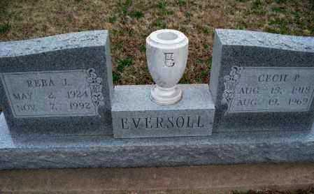 EVERSOLL, REBA J - Montgomery County, Kansas | REBA J EVERSOLL - Kansas Gravestone Photos