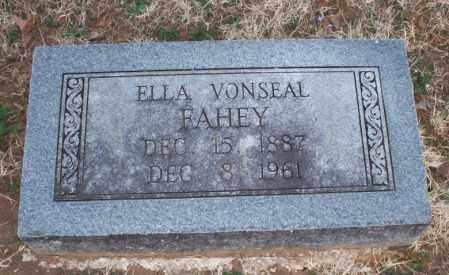 FAHEY, ELLA - Montgomery County, Kansas | ELLA FAHEY - Kansas Gravestone Photos