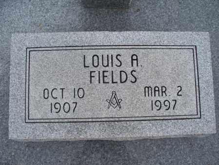 FIELDS, LOUIS A - Montgomery County, Kansas | LOUIS A FIELDS - Kansas Gravestone Photos