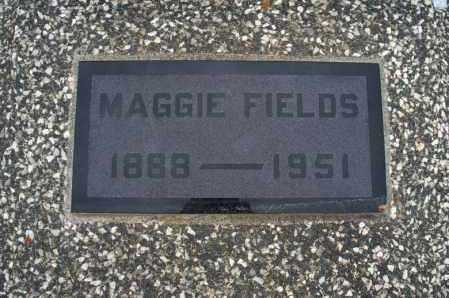 FIELDS, MAGGIE - Montgomery County, Kansas | MAGGIE FIELDS - Kansas Gravestone Photos