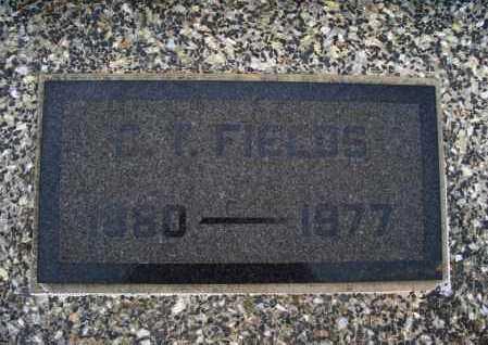 FIELDS, S T - Montgomery County, Kansas   S T FIELDS - Kansas Gravestone Photos