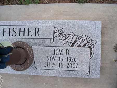 FISHER, JIM D - Montgomery County, Kansas | JIM D FISHER - Kansas Gravestone Photos