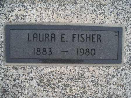 FISHER, LAURA E - Montgomery County, Kansas | LAURA E FISHER - Kansas Gravestone Photos