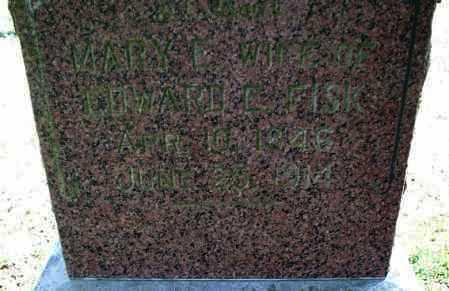 FISK, MARY E - Montgomery County, Kansas   MARY E FISK - Kansas Gravestone Photos