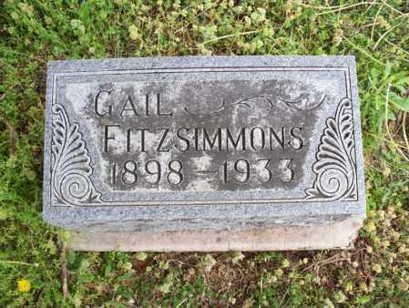 FITZSIMMONS, GAIL - Montgomery County, Kansas | GAIL FITZSIMMONS - Kansas Gravestone Photos