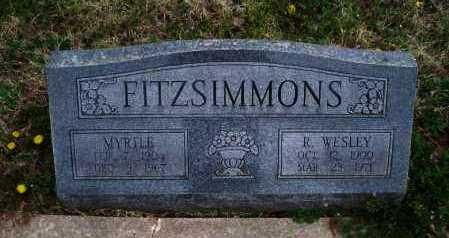 FITZSIMMONS, MYRTLE - Montgomery County, Kansas | MYRTLE FITZSIMMONS - Kansas Gravestone Photos