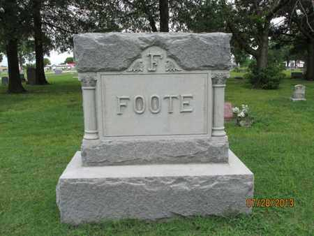 FOOTE, FAMILY STONE - Montgomery County, Kansas | FAMILY STONE FOOTE - Kansas Gravestone Photos