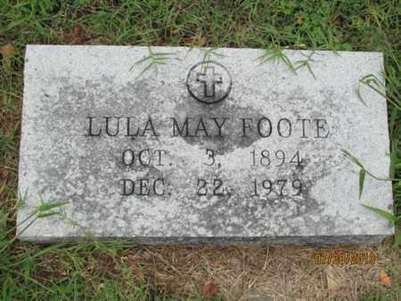 FOOTE, LULA MAY - Montgomery County, Kansas | LULA MAY FOOTE - Kansas Gravestone Photos
