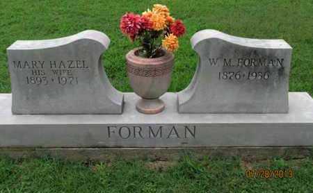 FORMAN, W M - Montgomery County, Kansas | W M FORMAN - Kansas Gravestone Photos