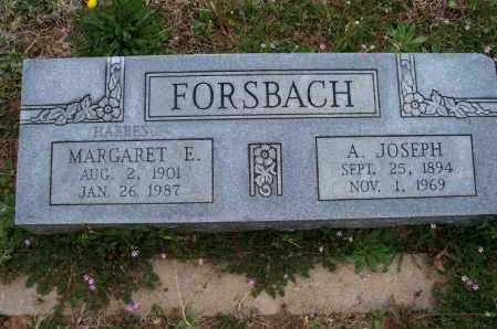 HARBESON FORSBACH, MARGARET E - Montgomery County, Kansas | MARGARET E HARBESON FORSBACH - Kansas Gravestone Photos