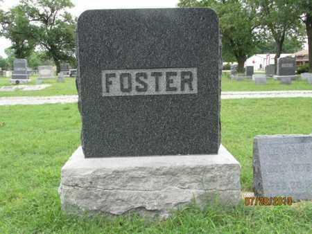 FOSTER, FAMILY STONE - Montgomery County, Kansas | FAMILY STONE FOSTER - Kansas Gravestone Photos
