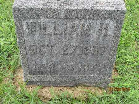 FOSTER, WILLIAM H - Montgomery County, Kansas | WILLIAM H FOSTER - Kansas Gravestone Photos